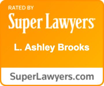Ashley Brooks Super Lawyer rating